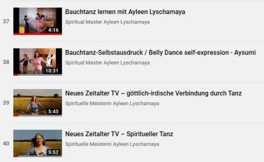New Age Enlightenment - learn belly dancing-5 online course