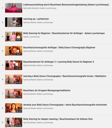 New Age Enlightenment - learn belly dancing-1 online course